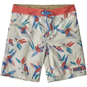 Patagonia Wavefarer Pantalones cortos Hombre, parrots/dyno white